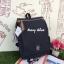 กระเป๋าเป้ Anello flap rucksack polyester canvas แบรนด์ดังรุ่นใหม่มาอีกแล้วว วัสดุผ้าแคนวาสเนื้อดี ยังคงเอกลักษณ์ความกว้างของปากกระเป๋าเพื่อการใช้งานที่ง่ายและสะดวก รุ่นนี้มีช่องเก็บสัมภาระมากมาย ทั้งภายในและภายนอก ด้านข้างใส่ขวดน้ำได้ ด้านหลังยังคงเป็นช่ thumbnail 32
