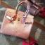 กระเป๋าทรงยอดฮิต สไตล์Birkin Crocodile Striped bag with accessories Available thumbnail 7