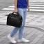 กระเป๋าเป้ ANELLO 2 WAY PU LEATHER BOSTON BAG (Regular)-----Pure Black thumbnail 1