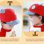 หมวกแก๊ป หมวกเด็กแบบมีปีกด้านหน้า ลายหมีน้อย (มี 4 สี) thumbnail 5