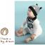 เซตหมวก+ผ้าซับน้ำลาย / ลาย Cat Baby (มี 5 สี) thumbnail 6