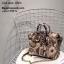 กระเป๋าถือสะพายหนังแท้ สองขนาด ลายงานหนังวัวแท้ สีทูโทน (Leather100%) thumbnail 10