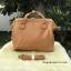 กระเป๋าเป้ ANELLO 2 WAY PU LEATHER BOSTON BAG (Regular)-----Camel Beige Color thumbnail 4