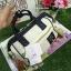 กระเป๋า Anello Canvas 2 Way Mini Boston Bag Tricolour เป้ผ้าใบ สะพายข้างลำตัว thumbnail 2