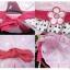 หมวกเด็กหญิง วัย 6-24 เดือน มีระบาย แต่งดอกไม้ปัก thumbnail 3