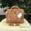 กระเป๋าเป้ ANELLO 2 WAY PU LEATHER BOSTON BAG (Regular)-----Camel Beige Color thumbnail 2
