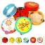 แทมบูรินไม้เคาะจังหวะสำหรับเด็ก การ์ตูนคละลาย - Tambourine musical educational toy thumbnail 3