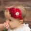 ผ้าคาดผมเจ้าหญิงแสนน่ารัก กลุ่มดอกไม้ติดเกสรไข่มุก ประดับโบว์เลื่อม งานระดับพรีเมี่ยม thumbnail 6