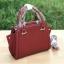 LYN Madison Bag สีแดง กระเป๋าถือหรือสะพายทรงสวย รุ่นใหม่ล่าสุด วัสดุหนัง Saffiano thumbnail 8