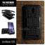 เคส Zenfone GO (ZC500TG) กรอบบั๊มเปอร์ กันกระแทก Defender สีดำ (เป็นขาตั้งได้) thumbnail 1