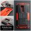 """เคส Zenfone GO 5.5"""" (ZB551KL DTAC Edition เท่านั้น) เคสบั๊มเปอร์ Defender กันกระแทก มีขาตั้งในตัว สีแดง thumbnail 2"""