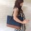 กระเป๋าถือหรือสะพาย Guess Peak Navy Blue Tote Shoulder Bag ราคา 1,690 บาท Free Ems thumbnail 16