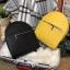 กระเป๋าสะพายเป้ ZARA Sturby Backpack With Zips 2017 สไตล์ PRADA สีดำ thumbnail 9