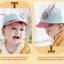 หมวกแก๊ป หมวกเด็กแบบมีปีกด้านหน้า ลายหมีน้อย (มี 4 สี) thumbnail 20