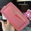 กระเป๋าสตางค์ใบยาว กระเป๋าเงิน CHARLES & KEITH LONG ZIP WALLET CK6-10770220 ซิปรอบ ใบยาว รุ่นใหม่ 2017 ชนชอป สิงคโปร์ - สีชมพู thumbnail 2