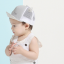หมวกแก๊ป หมวกเด็กแบบมีปีกด้านหน้า ลายขนตา (มี 2 สี) thumbnail 7