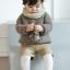 SK012••ถุงเท้าเด็ก•• แรคคูน (สีน้ำตาลอ่อน-ข้อสั้น) thumbnail 2