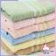 ผ้าขนหนู cotton 100% size 15x30 นิ้ว อย่างดี เนื้อนิ่มฟู ขนไม่ร่วงติดผิว แพ็ค 6 ผืน thumbnail 8