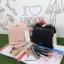 กระเป๋า Snidel store top ribbon bag สีดำ แบรนด์จากญี่ปุ่น สไตล์คุณหนู ขนาดมินิ thumbnail 6