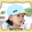 หมวกแก๊ป หมวกเด็กแบบมีปีกด้านหน้า ลายแลบลิ้น (มี 5 สี) thumbnail 9