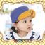 หมวกแก๊ป หมวกเด็กแบบมีปีกด้านหน้า ลายแลบลิ้น (มี 5 สี) thumbnail 5