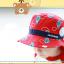 HT495••หมวกเด็ก•• / หมวกปีกกว้าง-บอลลูน (สีแดง) thumbnail 3