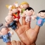 หุ่นนิ้วมือ ชุดครอบครัวสุขสันต์ Set 6 คน แบรนด์ NanaBaby thumbnail 1