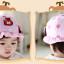 หมวกเด็กปีกกว้าง หมวกซันเดย์ ประดับปอยผม ลายกระต่ายน้อย (มี 3 สี) thumbnail 15
