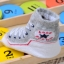 ถุงเท้าเด็กอ่อน 0-12 เดือน พิมพ์ลายรองเท้าผ้าใบ พื้นมีกันลื่น thumbnail 14