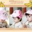 หมวกแก๊ป หมวกเด็กแบบมีปีกด้านหน้า ลายลิงน้อย (มี 3 สี) thumbnail 4