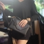 กระเป๋าสะพาย ปรับเป็นคลัชได้ สีดำ รุ่น KEEP Doratry shoulder &clutch bag thumbnail 5