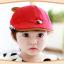 หมวกเด็ก หมวกเบเร่ต์-ลายแมว (มี 4 สี) thumbnail 5
