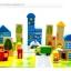 ชุดบล็อคไม้ของเล่น ทรงเรขา สร้างเมือง 62 ชิ้น thumbnail 11