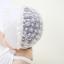 หมวกบอนเน็ตผ้าลูกไม้ หมวกเด็กผู้หญิงปิดท้ายทอย สีครีม (แบบที่ 2) thumbnail 4