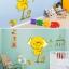 นาฬิกา 3D สติ๊กเกอร์วอลล์เปเปอร์ติดผนัง DIY thumbnail 5