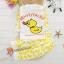 ชุดนอนเด็กเล็ก แขนยาว+ขายาว ลายการ์ตูนเป็ดสีเหลือง สำหรับเด็ก 1-3 ปี thumbnail 1