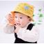HT470••หมวกเด็ก•• / หมวกปีกกว้าง-นานาผัก (สีเหลือง) thumbnail 1