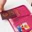 กระเป๋าใส่พาสปอร์ตสั้น กระเป๋าใส่หนังสือเดินทาง ขนาดกะทัดรัด ช่องเยอะ ใส่เอกสารสำคัญ ธนบัตร บัตรต่าง ๆ พกพาสะดวก ผลิตจากโพลีเอสเตอร์กันน้ำ คุณภาพดี thumbnail 36