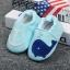 รองเท้าหัดเดินเด็กอ่อน ปลาวาฬสีน้ำเงิน วัย 0-18 เดือน thumbnail 1
