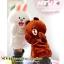 ตุ๊กตาหุ่นมือ หมีบราวน์ และ โคนี่ thumbnail 11