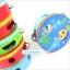 แทมบูรินไม้เคาะจังหวะสำหรับเด็ก การ์ตูนคละลาย - Tambourine musical educational toy thumbnail 9