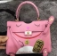 Kelly Meaw Meaw ขนาด 25 cm Pink Wealthy Bag thumbnail 6