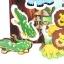 ของเล่นไม้ จิ๊กซอจับคู่สัตว์ป่า เสริมพัฒนาการ thumbnail 4