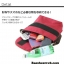 กระเป๋า ANELLO POLYESTER CANVAS SHOULDER BAG สี Red Wine thumbnail 2