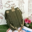 กระเป๋าเป้ Anello flap rucksack polyester canvas แบรนด์ดังรุ่นใหม่มาอีกแล้วว วัสดุผ้าแคนวาสเนื้อดี ยังคงเอกลักษณ์ความกว้างของปากกระเป๋าเพื่อการใช้งานที่ง่ายและสะดวก รุ่นนี้มีช่องเก็บสัมภาระมากมาย ทั้งภายในและภายนอก ด้านข้างใส่ขวดน้ำได้ ด้านหลังยังคงเป็นช่ thumbnail 5