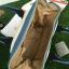 กระเป๋า Anello 2 Way Mini Boston Bag Twotone ขาวฟ้า สะพายข้างลำตัว thumbnail 4