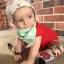 หมวกเด็กอ่อนเท่ๆ ลายกวาง สำหรับเด็กวัย 3-12 เดือน thumbnail 4