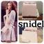 กระเป๋า Snidel store top ribbon bag สีดำ แบรนด์จากญี่ปุ่น สไตล์คุณหนู ขนาดมินิ thumbnail 7