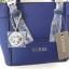 กระเป๋า GUESS SAFFIANO MINI CROSS BODY BAG 2016 สีน้ำเงิน ราคา 1,290 บาท Free Ems thumbnail 2