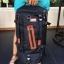 กระเป๋าเป้ WitzMan Nylon Travel Backpack Waterproof สีดำ thumbnail 4